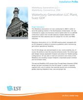 Waterbury Generation LLC OTSG ECS